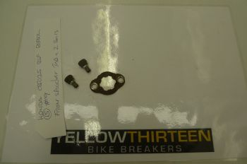 HONDA CBR125 RSF  FRONT SPROCKET TAB WASHER & 2 BOLTS  #9 (CON-B)